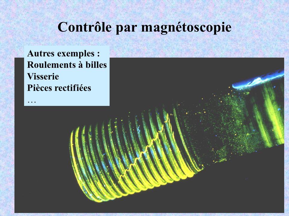 Contrôle par magnétoscopie