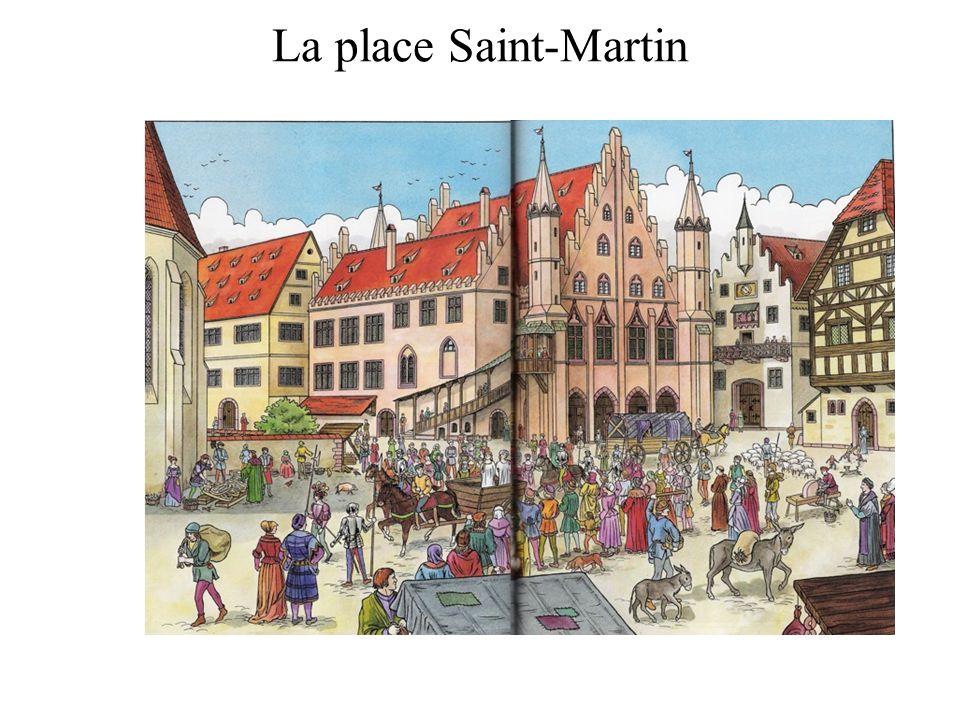 La place Saint-Martin