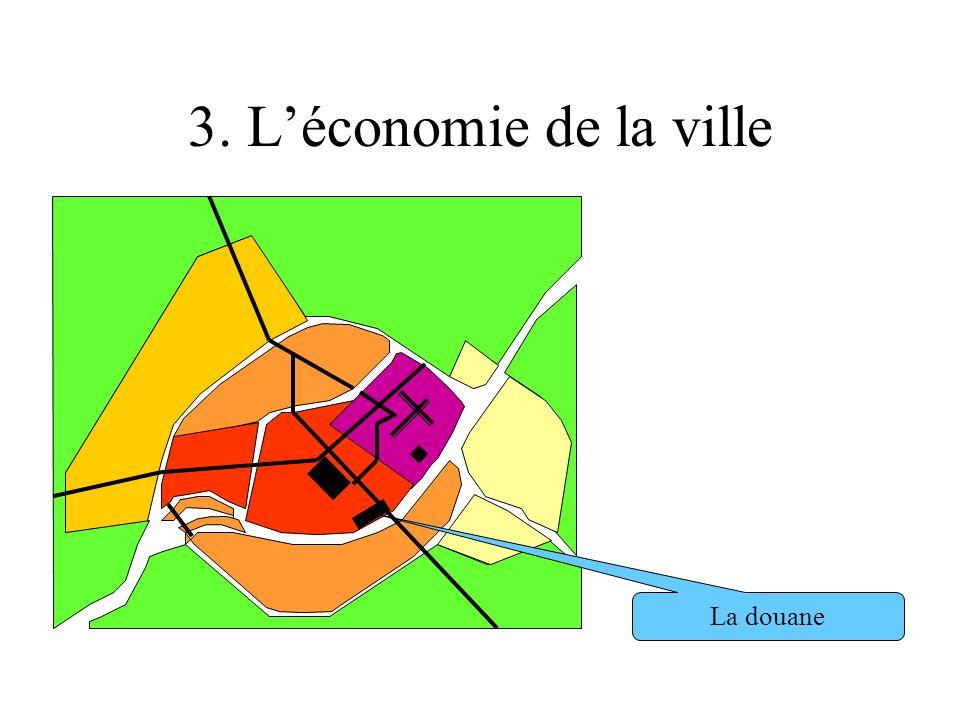 3. L'économie de la ville La douane