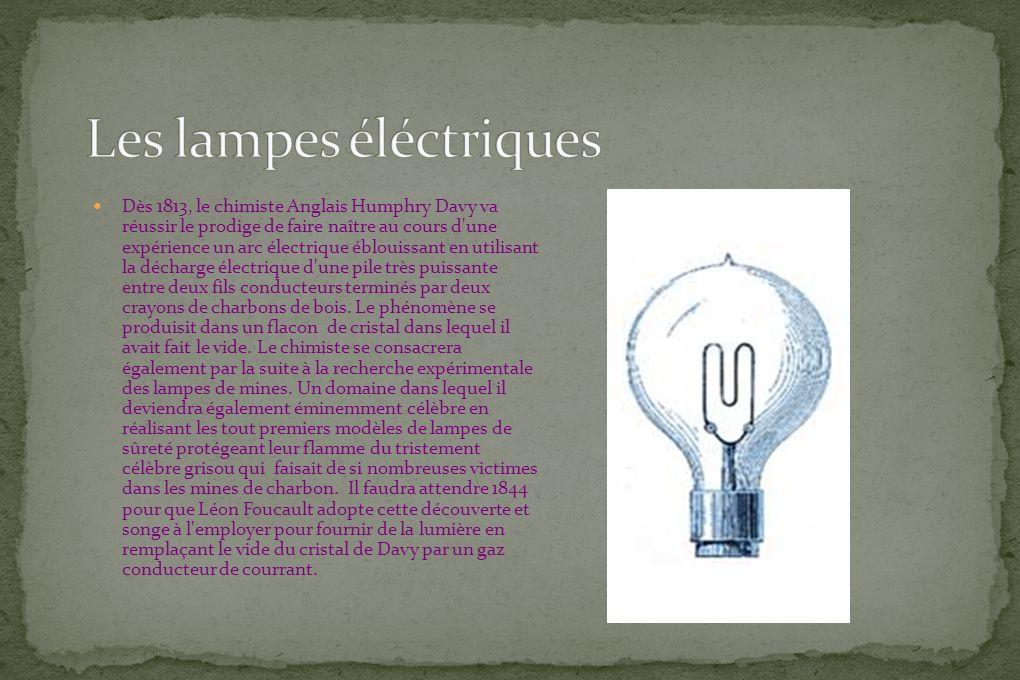 Les lampes éléctriques