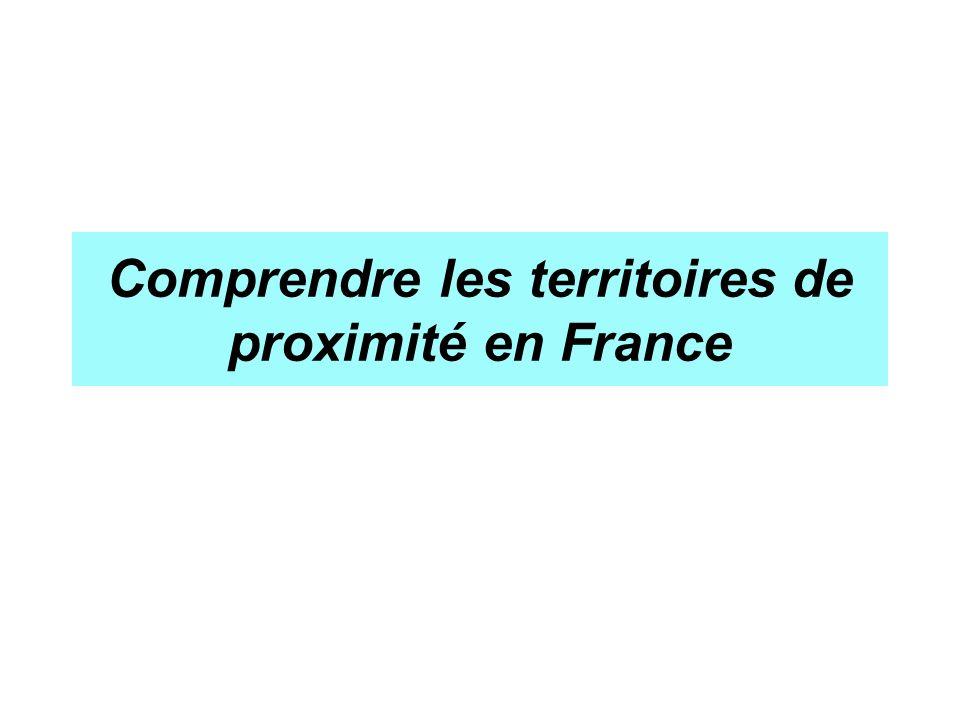 Comprendre les territoires de proximité en France