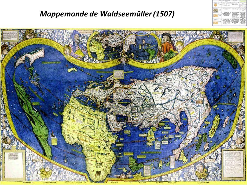 Mappemonde de Waldseemüller (1507)