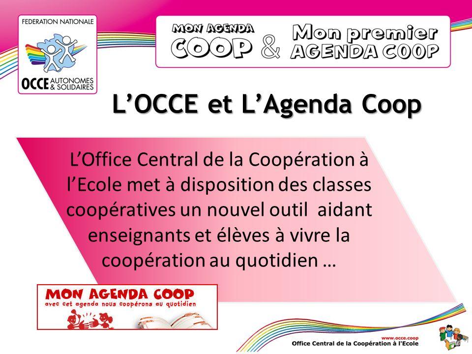 L'OCCE et L'Agenda Coop
