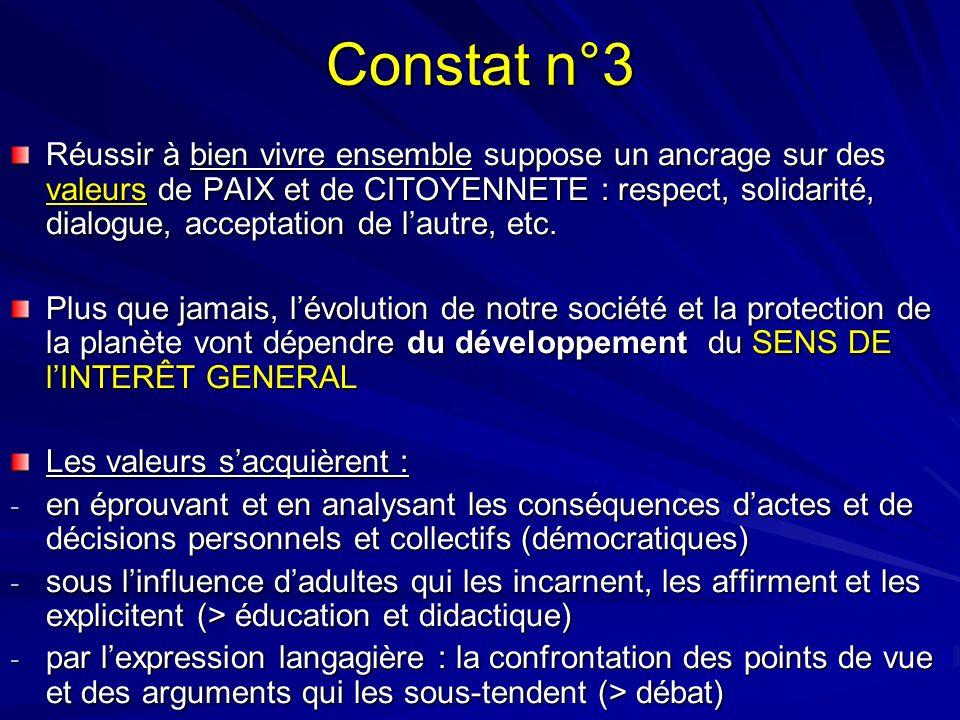 Constat n°3