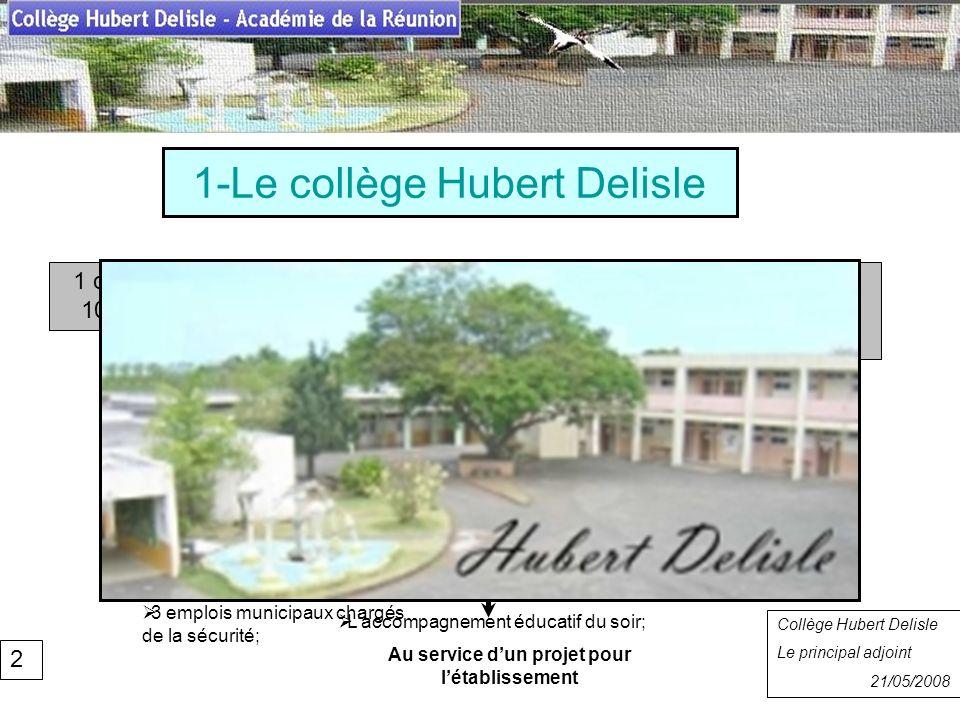 1-Le collège Hubert Delisle
