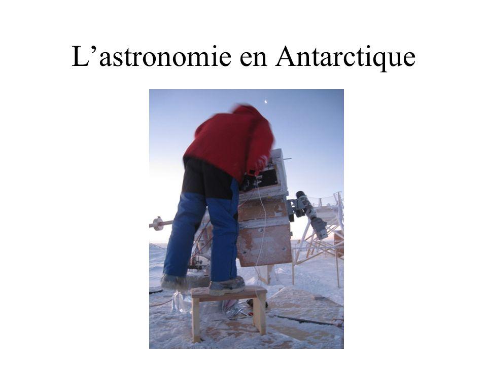 L'astronomie en Antarctique