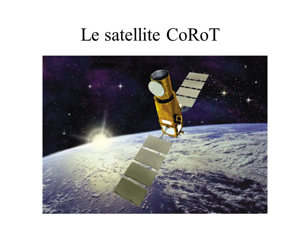 Le satellite CoRoT