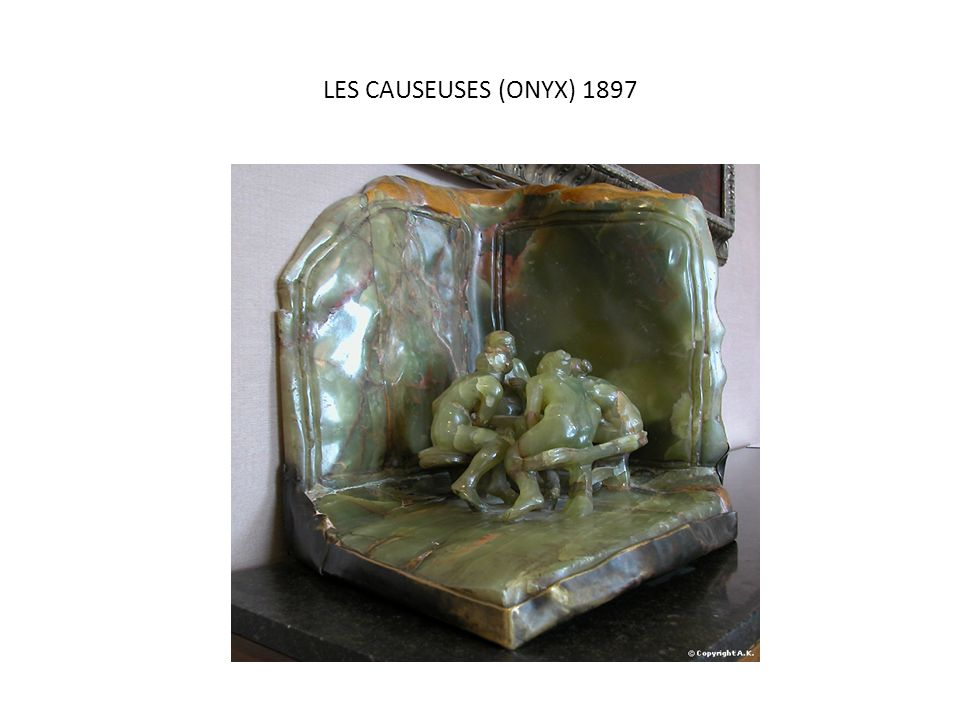 LES CAUSEUSES (ONYX) 1897