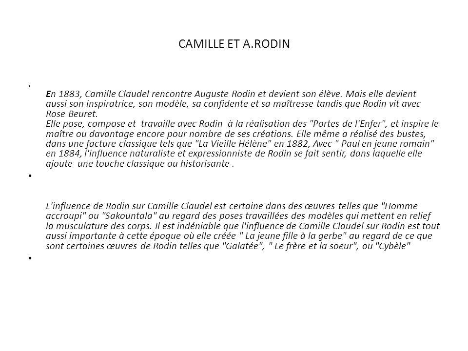 CAMILLE ET A.RODIN
