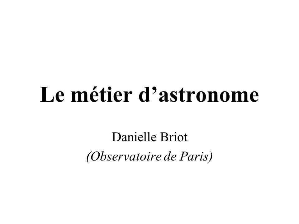 Danielle Briot (Observatoire de Paris)