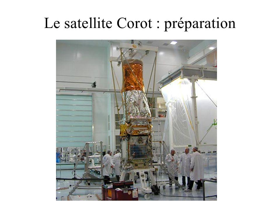 Le satellite Corot : préparation