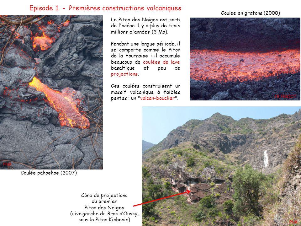 Episode 1 - Premières constructions volcaniques