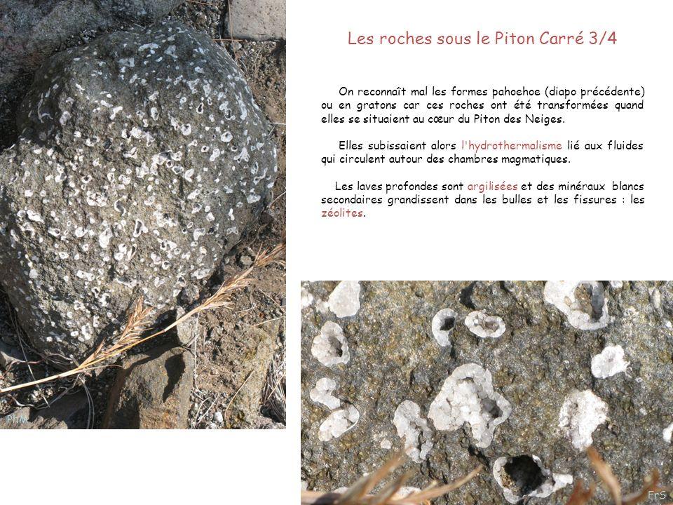 Les roches sous le Piton Carré 3/4