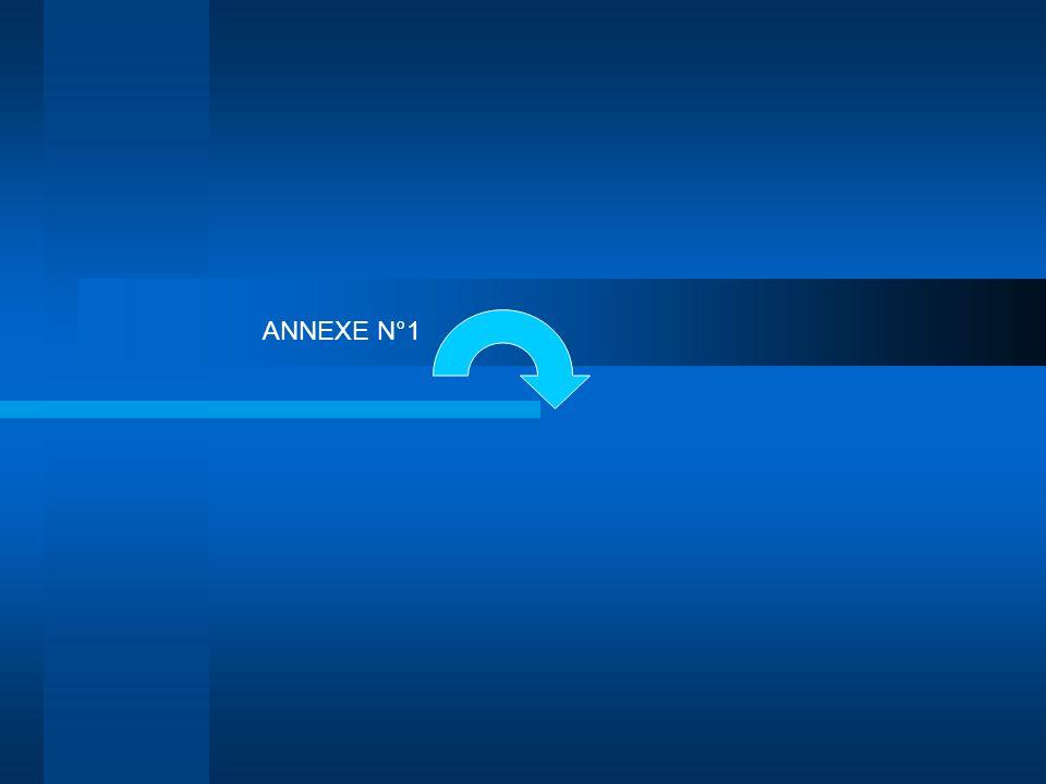 ANNEXE N°1