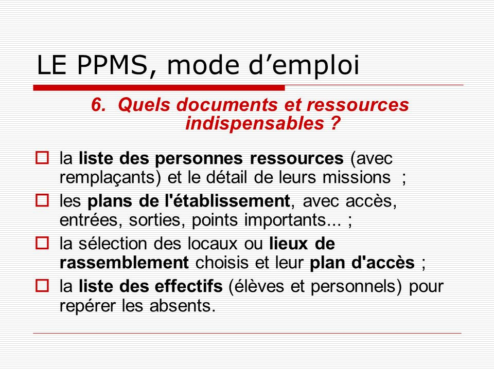 Quels documents et ressources indispensables