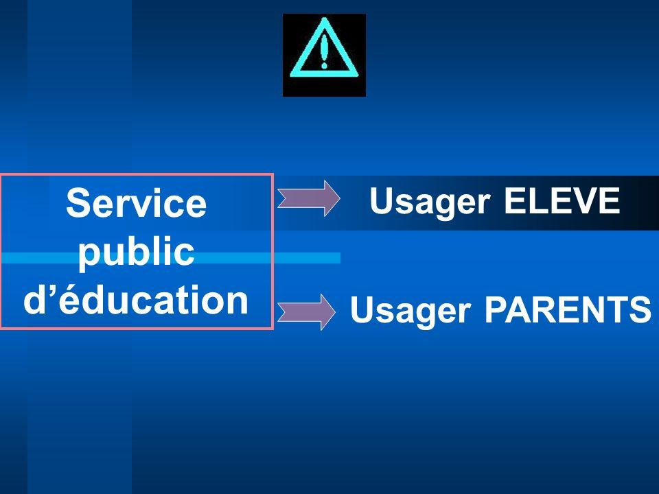 Service public d'éducation