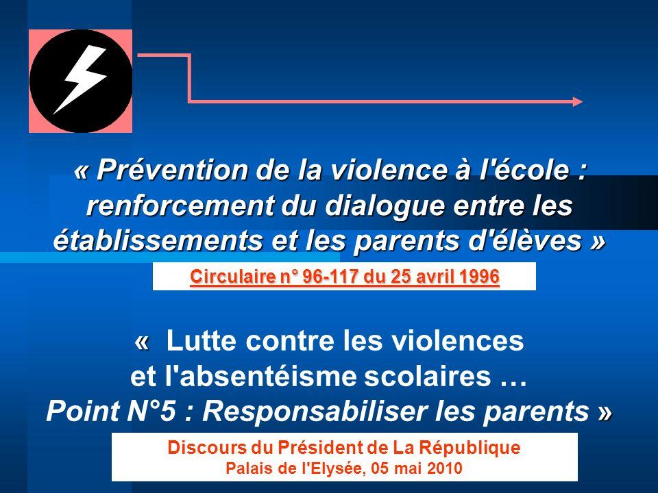 « Lutte contre les violences et l absentéisme scolaires …