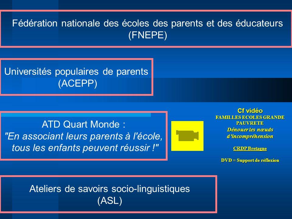 Fédération nationale des écoles des parents et des éducateurs (FNEPE)