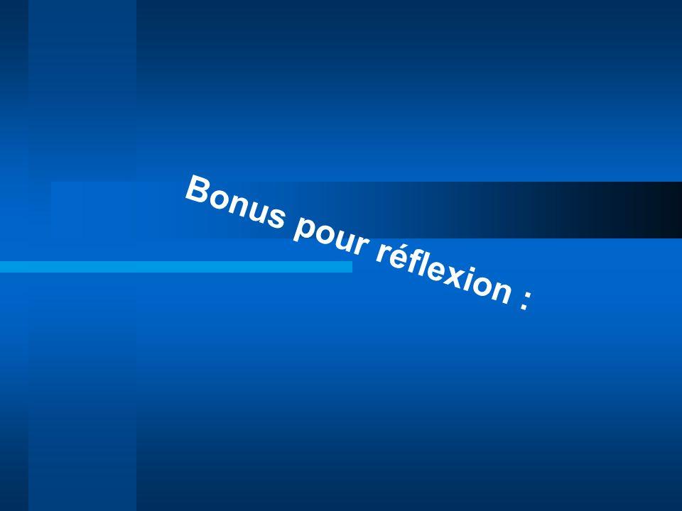Bonus pour réflexion : Grandir c'est se séparer de + en +