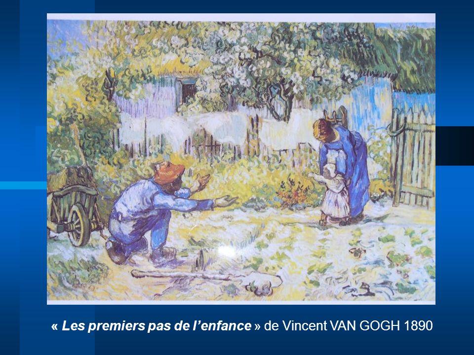 « Les premiers pas de l'enfance » de Vincent VAN GOGH 1890