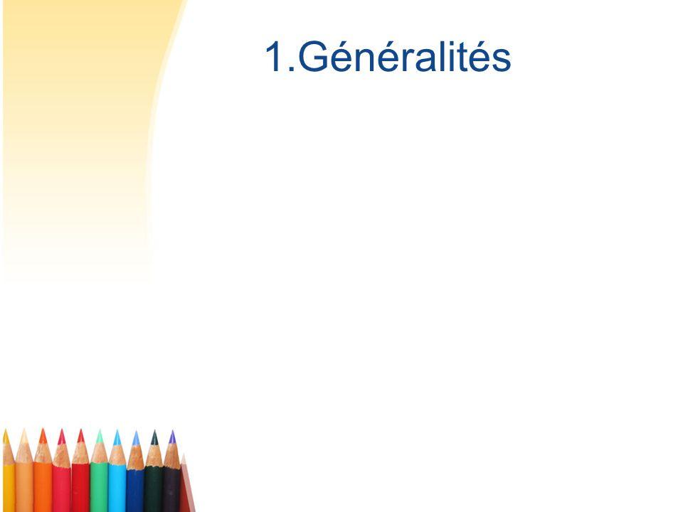 1.Généralités