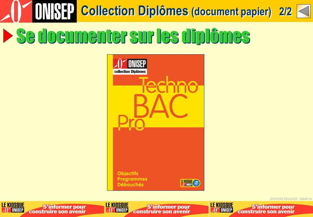 Collection Diplômes (document papier) 2/2