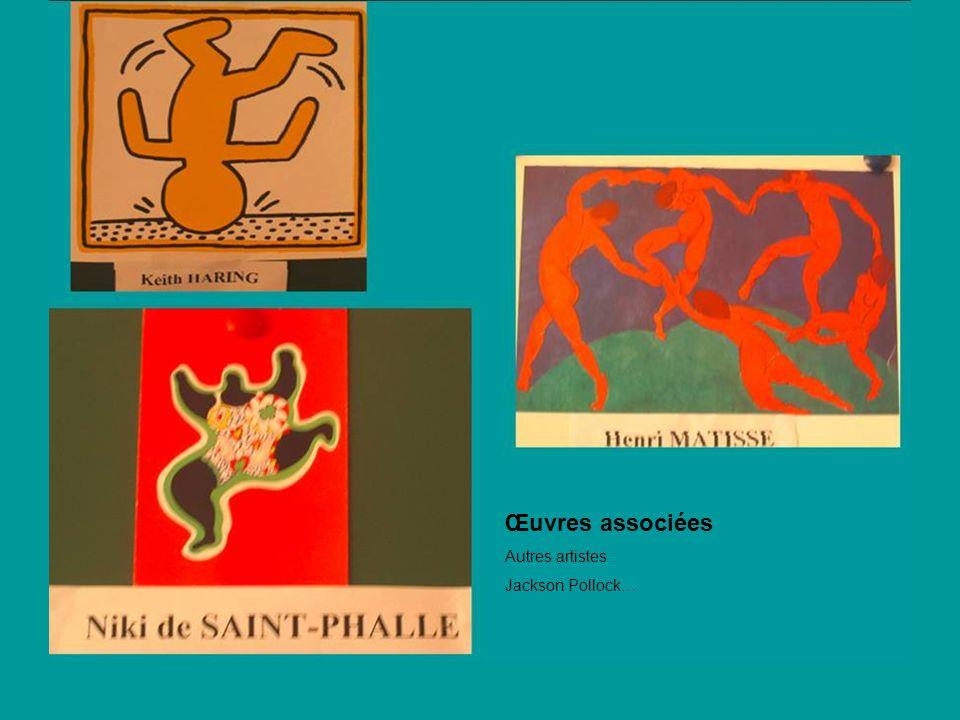 Œuvres associées Autres artistes : Jackson Pollock…
