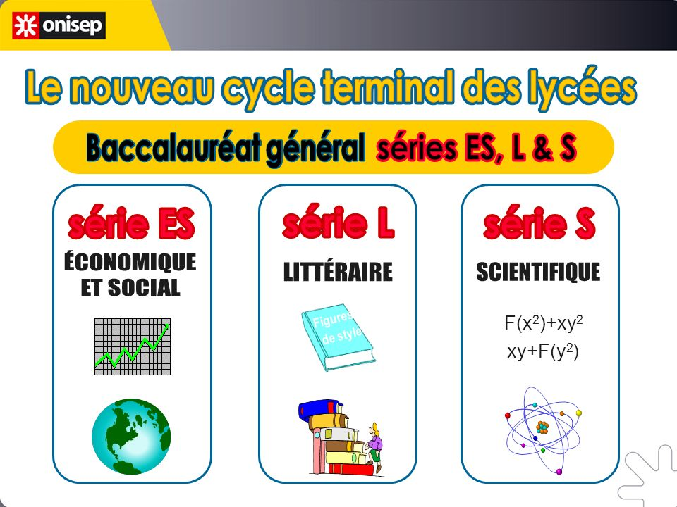 Le nouveau cycle terminal des lycées