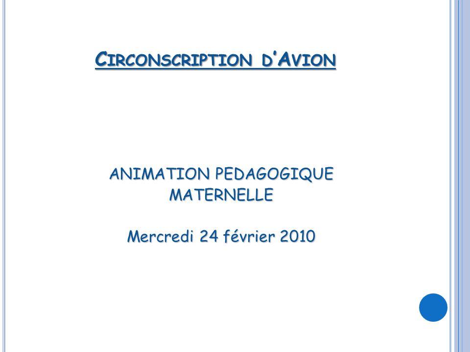 Circonscription d'Avion