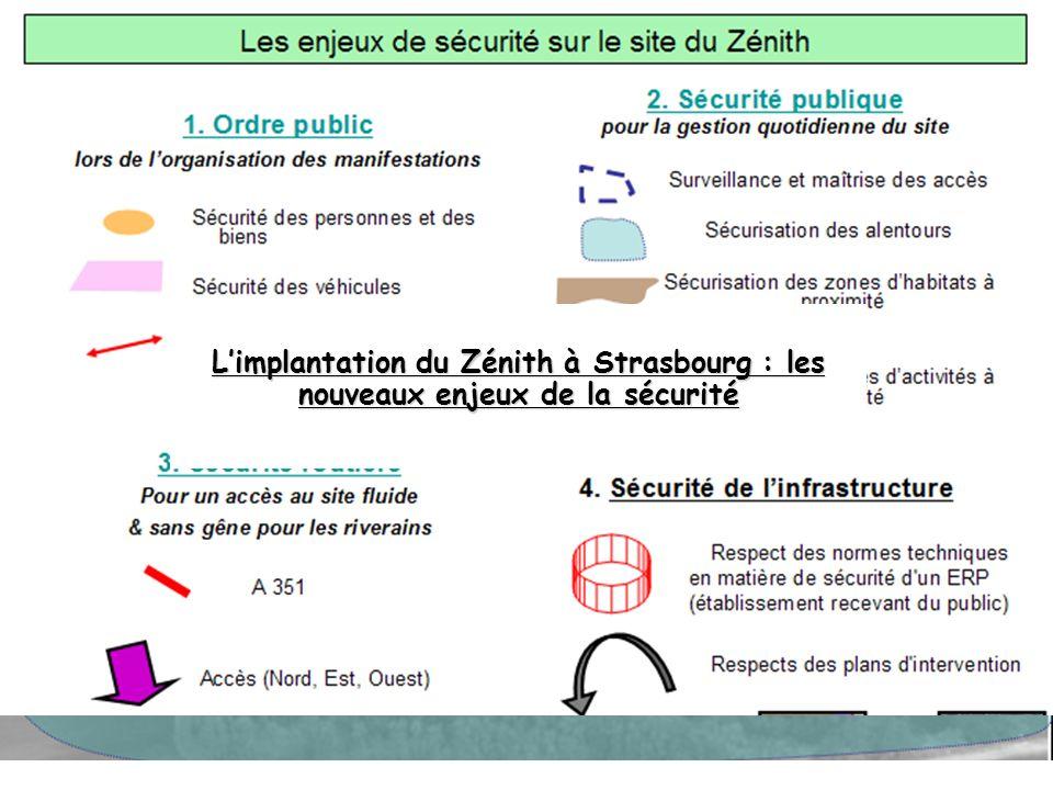 L'implantation du Zénith à Strasbourg : les nouveaux enjeux de la sécurité