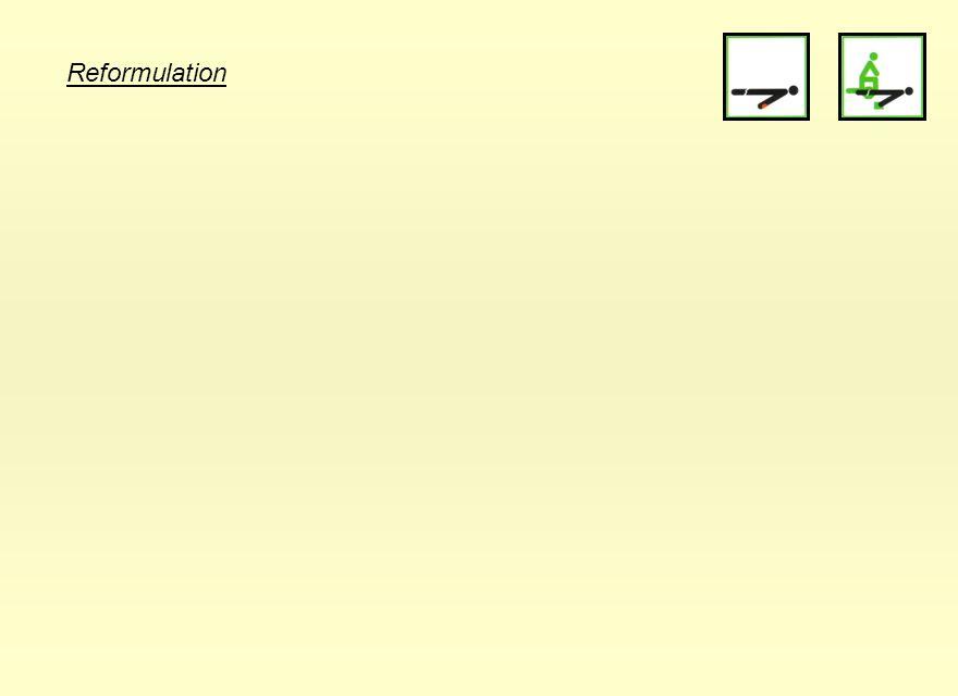Reformulation 30