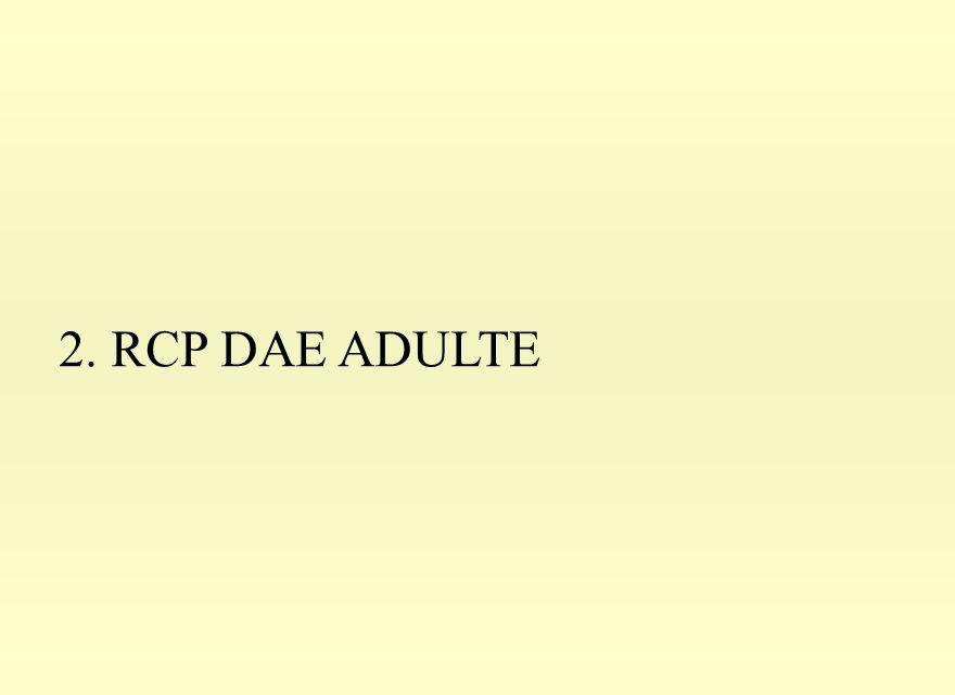 2. RCP DAE ADULTE