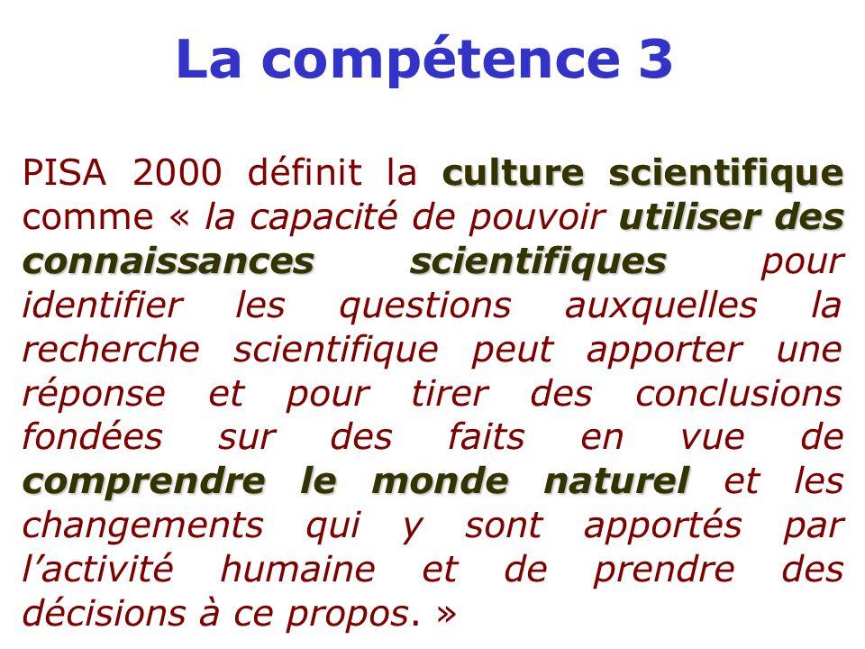 La compétence 3