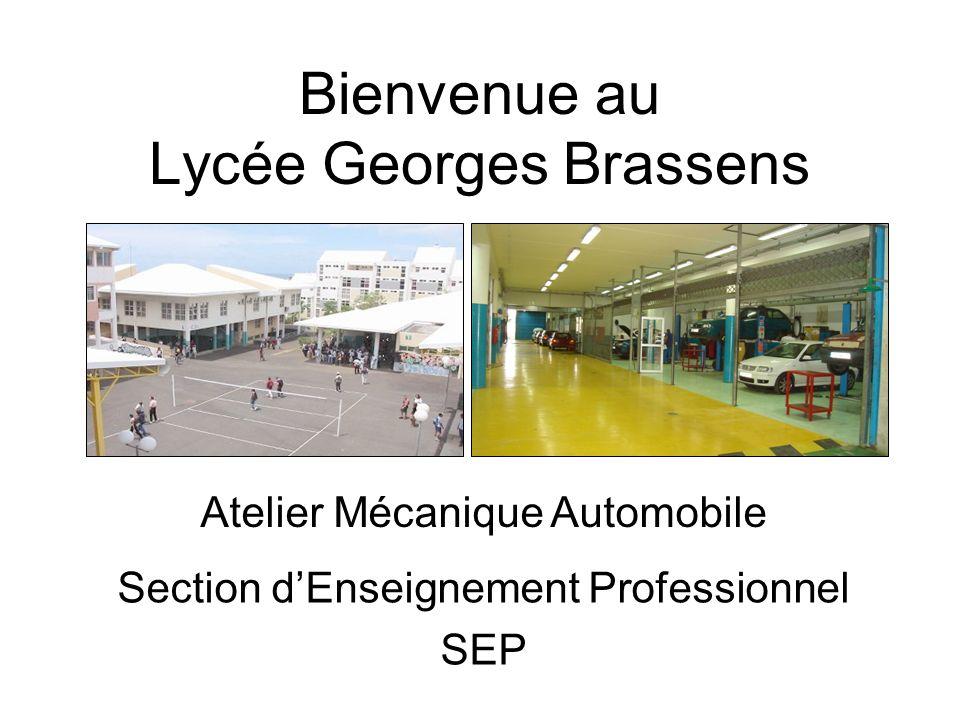 Bienvenue au Lycée Georges Brassens