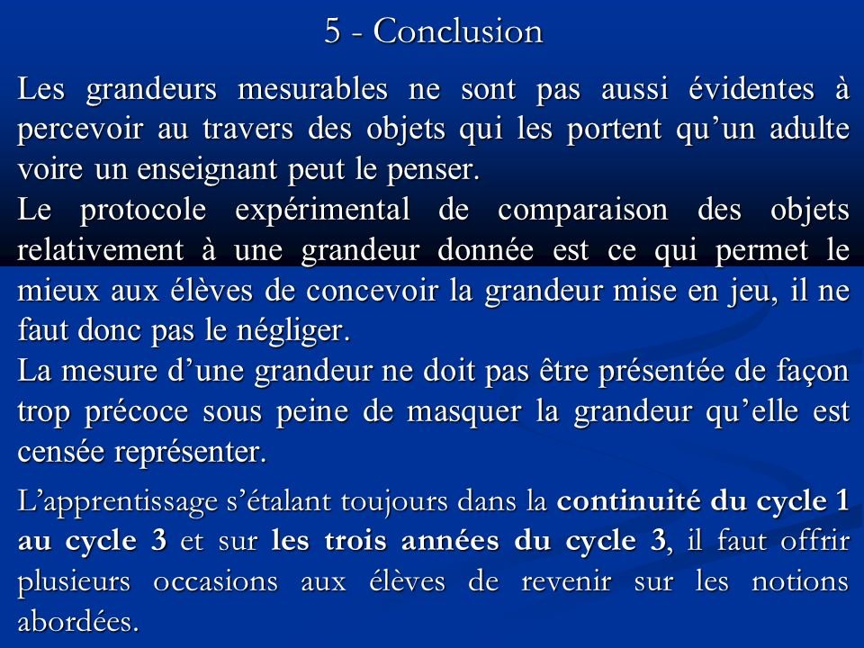 5 - Conclusion