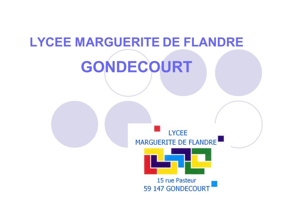 LYCEE MARGUERITE DE FLANDRE GONDECOURT