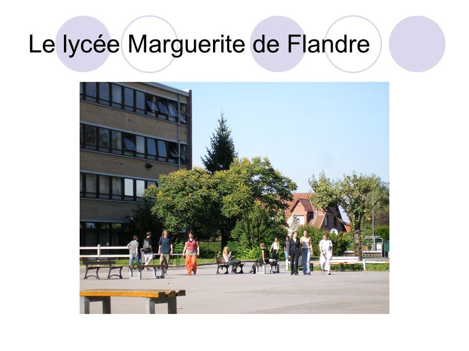 Le lycée Marguerite de Flandre