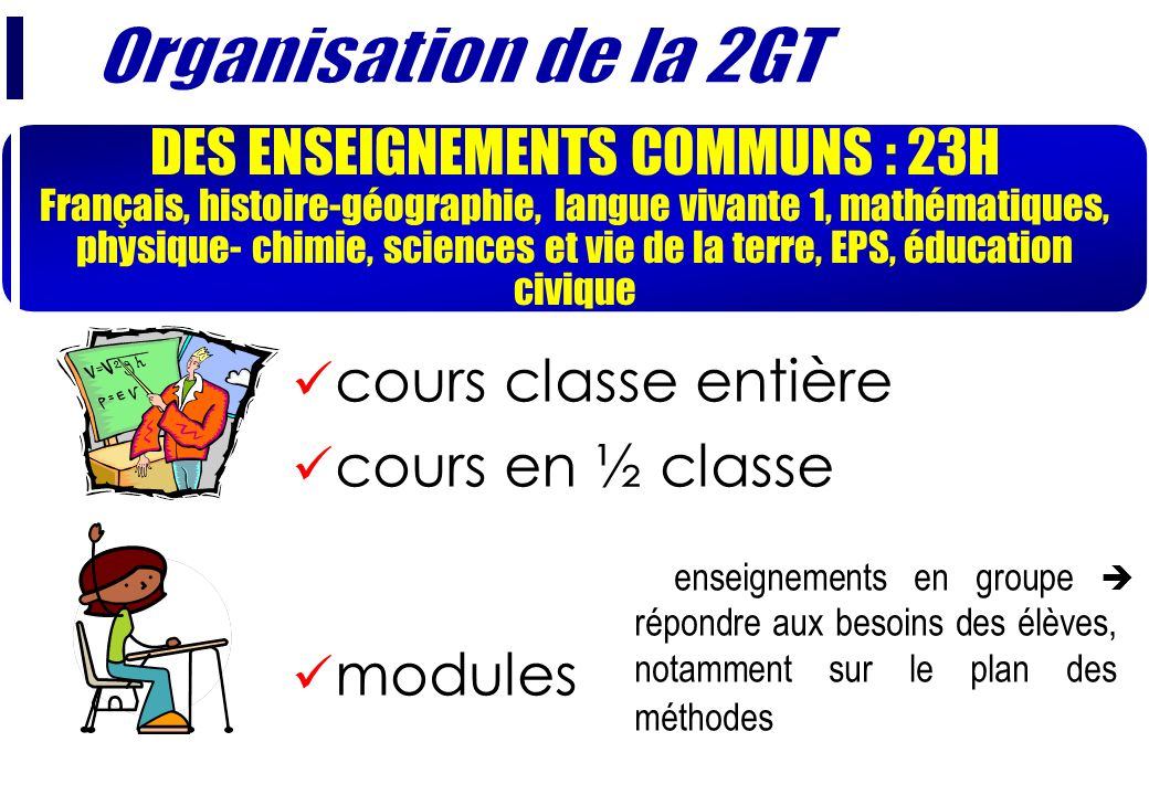 DES ENSEIGNEMENTS COMMUNS : 23H