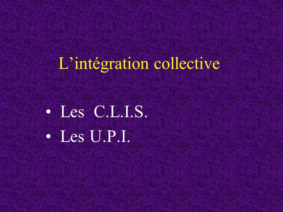 L'intégration collective