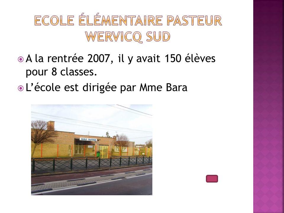 Ecole élémentaire Pasteur Wervicq Sud