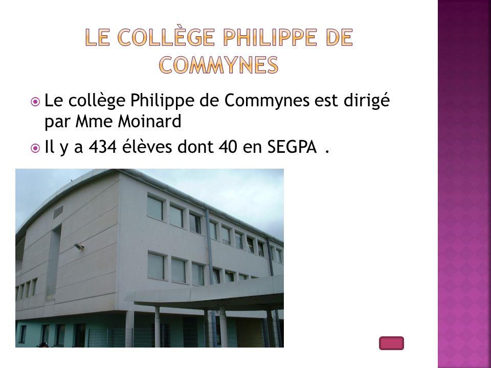 Le collège Philippe de Commynes