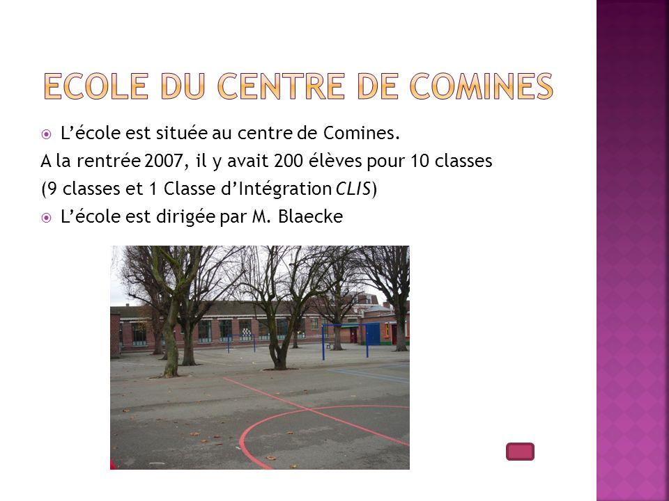 Ecole du centre de Comines