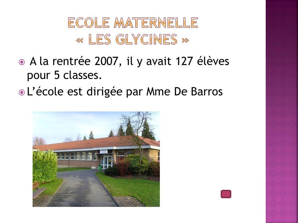 Ecole maternelle « Les Glycines »
