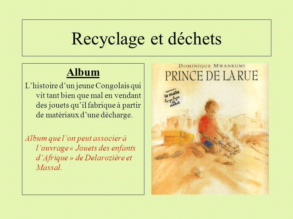 Recyclage et déchets Album
