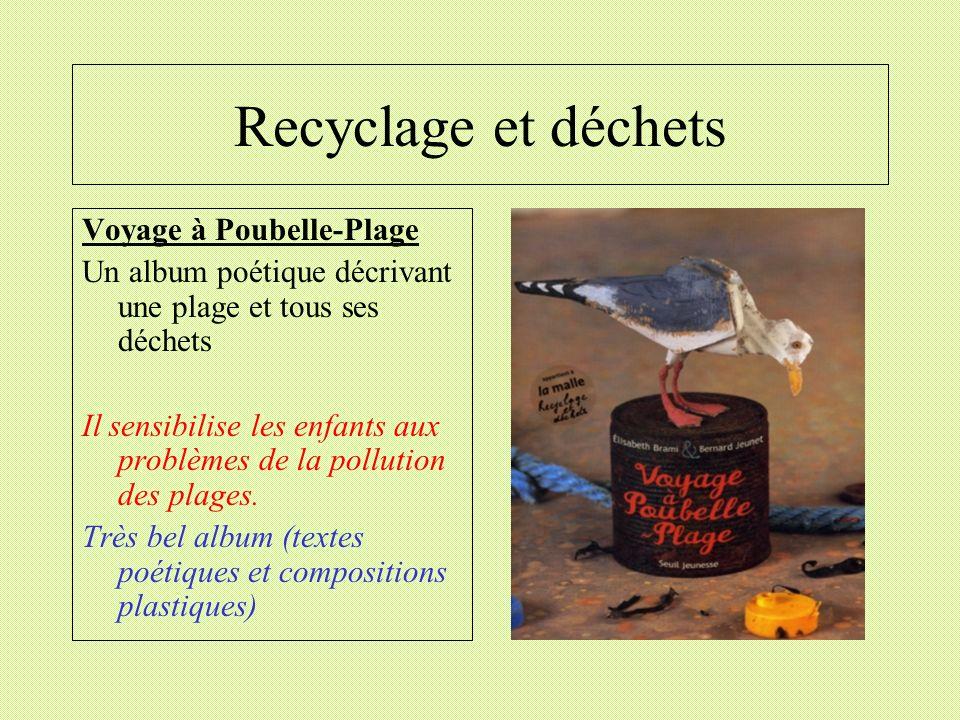 Recyclage et déchets Voyage à Poubelle-Plage