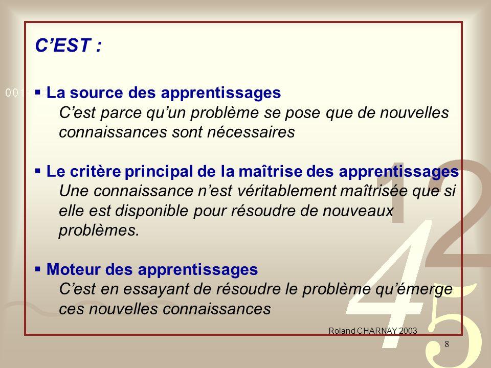 C'EST : La source des apprentissages