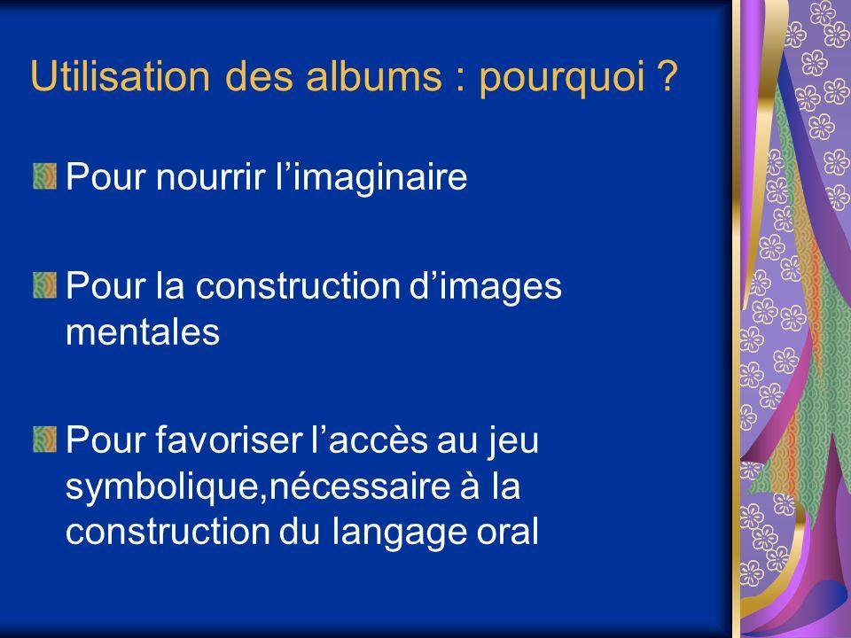 Utilisation des albums : pourquoi