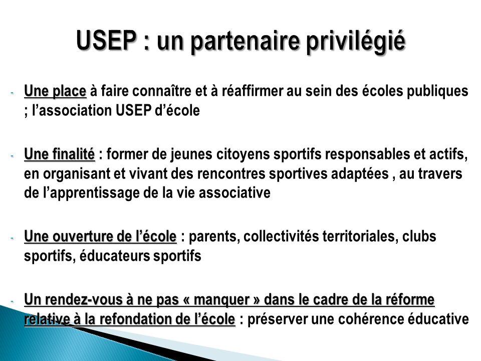 USEP : un partenaire privilégié