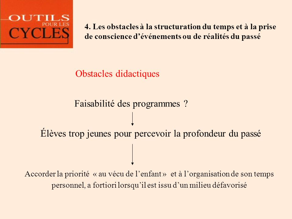 Obstacles didactiques