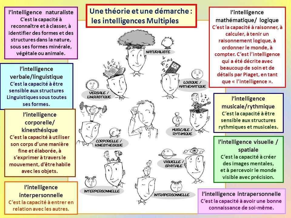 Une théorie et une démarche : les intelligences Multiples